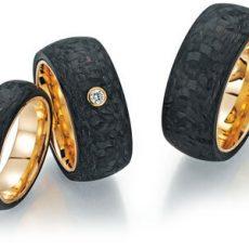 Alianza Fischer Ring Gold Karbon 23-01010-2