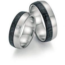 Alianza Fischer Ring Gold Karbon 23-01040
