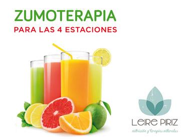 Zumoterapia, libros de alimentación