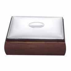 Caja perlitas Pedro Durán plata